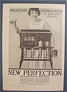 Vintage Ad: 1923 New Perfection Oil Cook Stoves & Ovens (Image1)