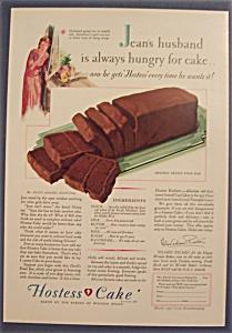 Vintage Ad: 1930 Hostess Cake (Image1)