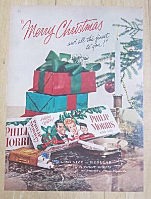 1953 Philip Morris Cigarette /Lucille Ball & Desi Arnaz (Image1)