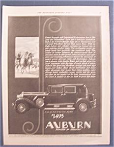 Vintage Ad: 1930  Auburn (Image1)