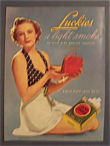 1936 Lucky Strike Cigarettes (Image1)
