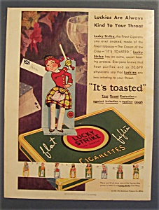 1930 Lucky Strike Cigarettes (Image1)