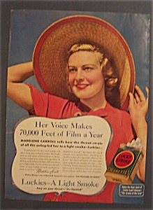 1937 Lucky Strike Cigarettes