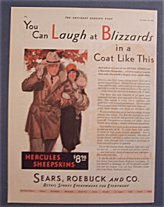 Vintage Ad: 1929  Sears, Roebuck & Co. Retail Stores (Image1)