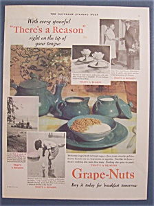 Vintage Ad: 1929 Grape - Nuts Cereal