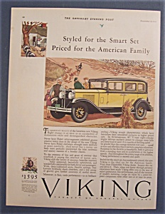 Vintage Ad: 1929  Viking  Eight (Image1)