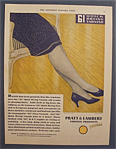 1929  Pratt & Lambert 61 Quick Drying Varnish (Image1)