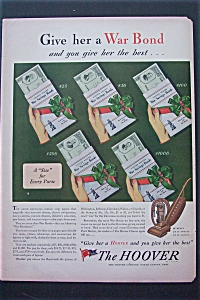 1943 The Hoover Company with 5 Different War Bonds (Image1)