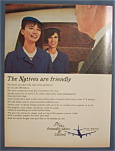 Vintage Ad: 1965 United Air Lines