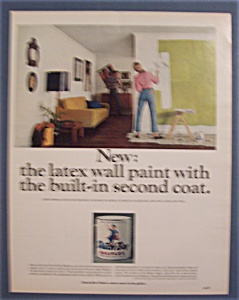 1966 Dutch Boy Nalplex Latex Wall Paint w/Woman (Image1)