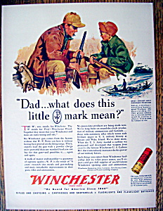1943 Winchester Ammunition with Father & Son Talking  (Image1)