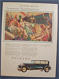1929 Packard With Cleopatra's Lavish Barge