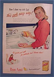 Vintage Ad: 1947 Bon Ami (Image1)