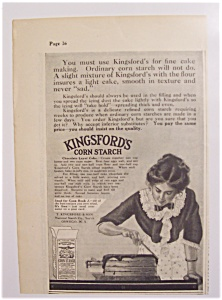 1911 Kingsford's Corn Starch