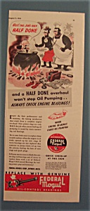 1941 Federal Mogul Oil - Control Bearings (Image1)