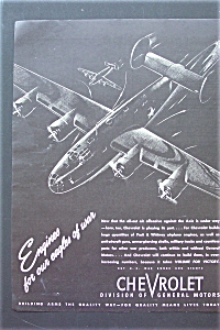 1943 Chevrolet with an Army Plane  (Image1)