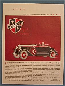 Vintage Ad: 1929 Buick Marquette
