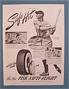 "1941 Fisk Tires with Joe ""Flash"" Gordon (Image1)"