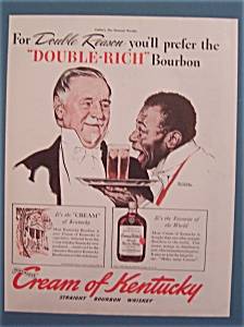 Vintage Ad: 1940 Cream Of Kentucky/norman Rockwell