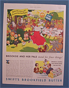 Vintage Ad: 1933 Swift's Brookfield Butter