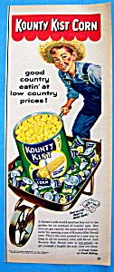 Vintage Ad: 1954 Kounty Kist Corn (Image1)