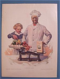 1923 Cream Of Wheat Cereal w/Cream Of Wheat Man & Boy (Image1)