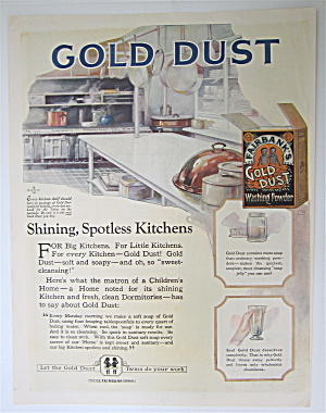 1923 Fairbank's Gold Dust Washing Powder with Kitchens (Image1)