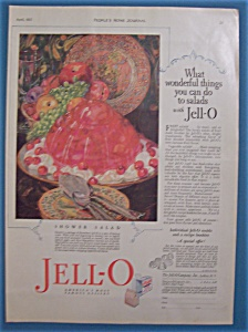 Vintage Ad: 1927 Jell-o By Giro