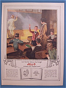 Vintage Ad: 1922 Jell-o
