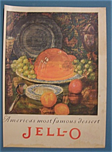 Vintage Ad: 1925 Jell-O By Giro (Image1)