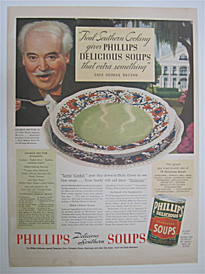 1937 Phillips Condensed Soups With George Rector