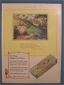 Vintage Ad: 1927 Wrigley's Double Mint Chewing Gum
