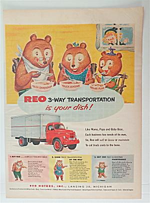 1953 REO 3-Way Transportation with the Three Bears  (Image1)