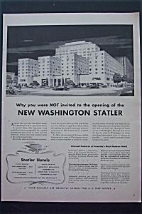 1943 Statler Hotels with New Washington Statler  (Image1)