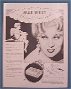 Vintage Ad: 1934 Lux Toilet Soap With Mae West