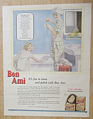 Vintage Ad: 1926 Bon Ami Cake or Powder (Image1)