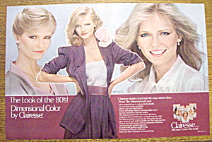 Vintage Ad: 1980 Clairol Clairesse with Cheryl Tiegs (Image1)