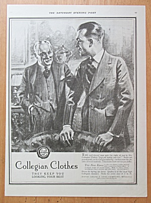 1921 Collegian Clothes with Two Men Talking in Suits  (Image1)