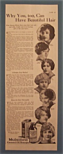 1924 Mulsified Cocoanut Shampoo W/betty Compson & More