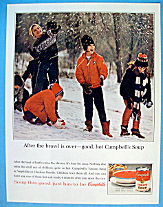 Vintage Ad: 1964 Campbell's Soup