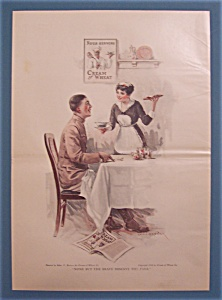 1918 Cream Of Wheat Cereal By Edward V. Brewer