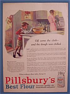 Vintage Ad: 1927 Pillsbury's Best Flour (Image1)