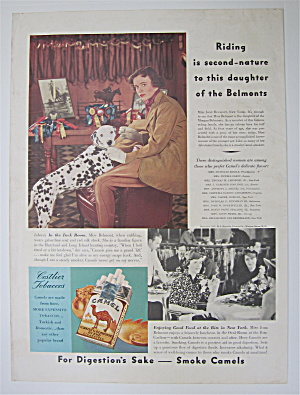 1937 Camel Cigarettes with Miss Joan Belmont (Image1)