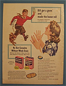 Vintage Ad: 1944 Ralston Whole Wheat Cereal