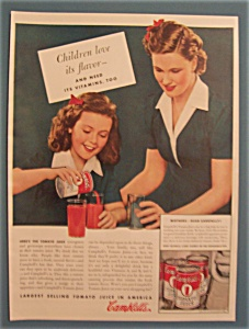 1941 Campbell's Tomato Juice