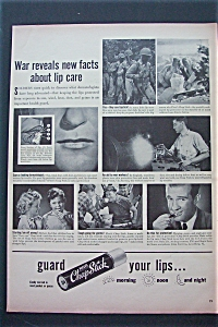 1943 Chap Stick with Facts About Lip Care  (Image1)