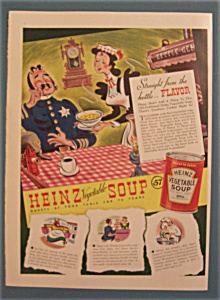 Vintage Ad: 1940 Heinz Vegetable Soup