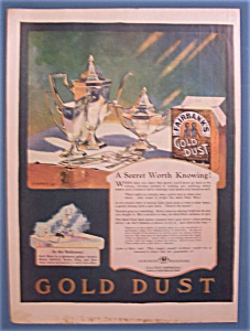 1924  Fairbank's Gold Dust Washing Powder (Image1)