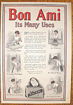 1911 Bon Ami with Woman Cleaning Different Things (Image1)
