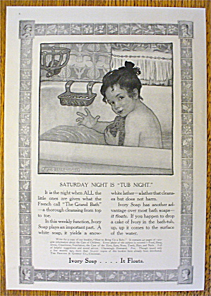 1907 Ivory Soap with Girl in Bath By Alice Beach Winter (Image1)